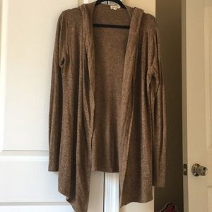 Hooded Silence + Noise hooded cardigan